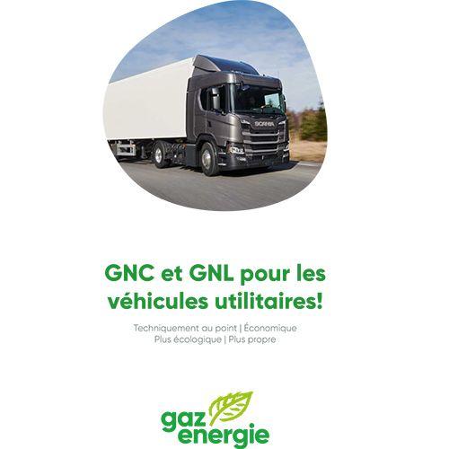 GNC et GNL pour les véhicules utilitaires!
