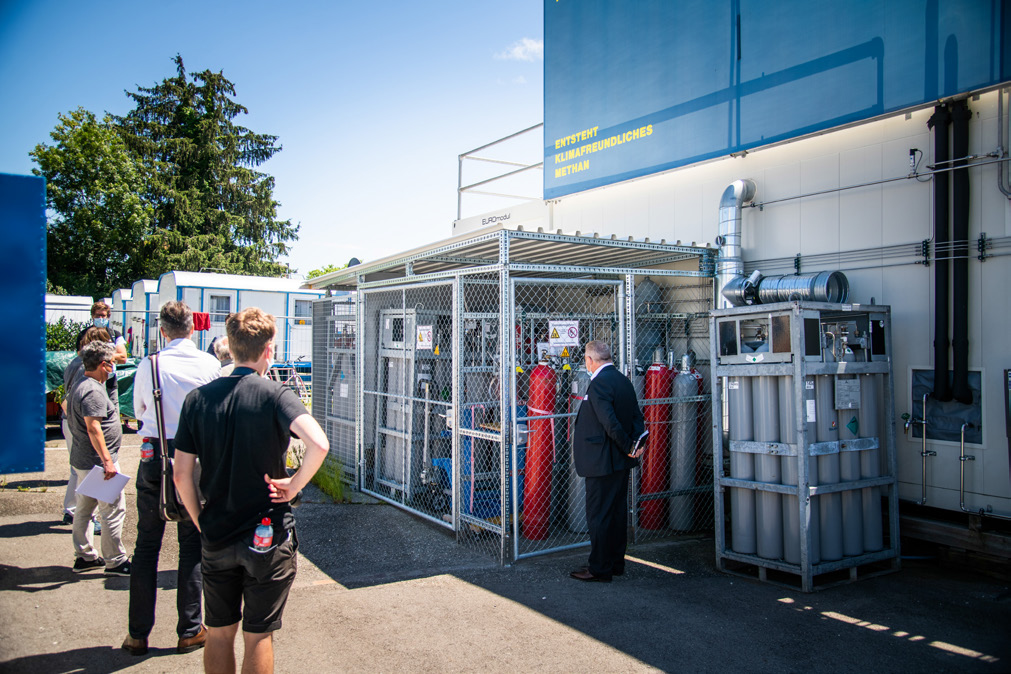 Installation pilote power-to-methane