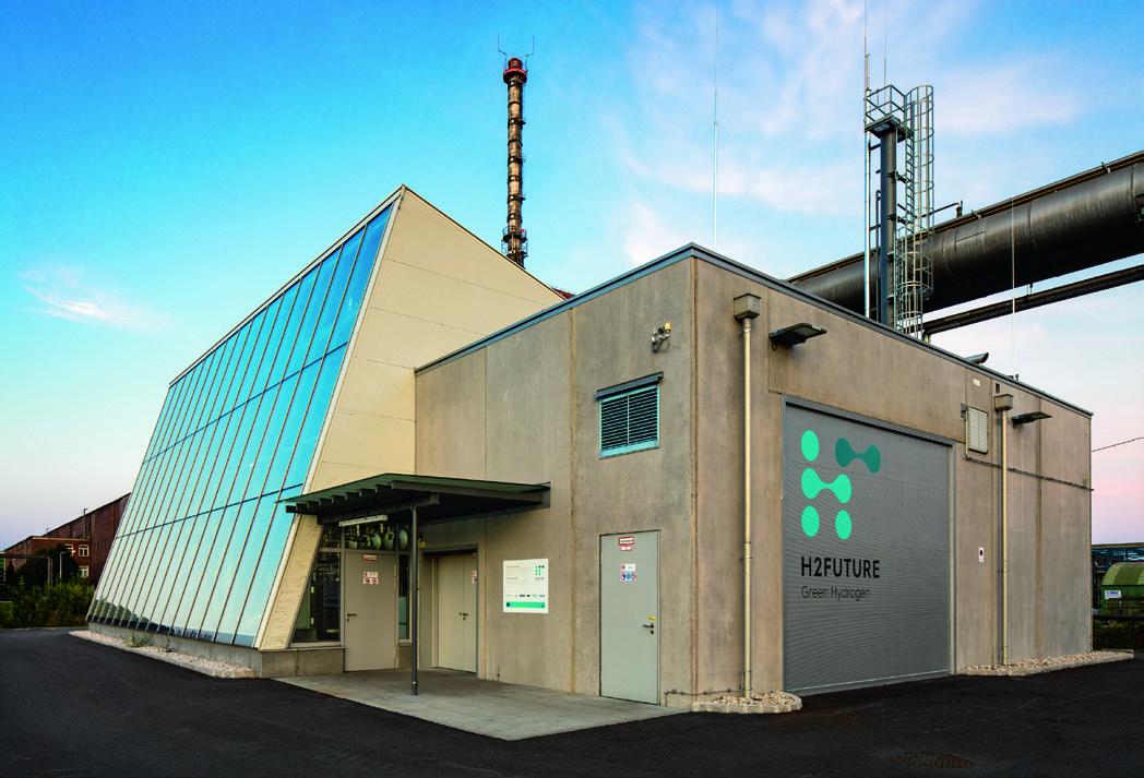 Hydrogène vert: décarbonisation de la production d'acier