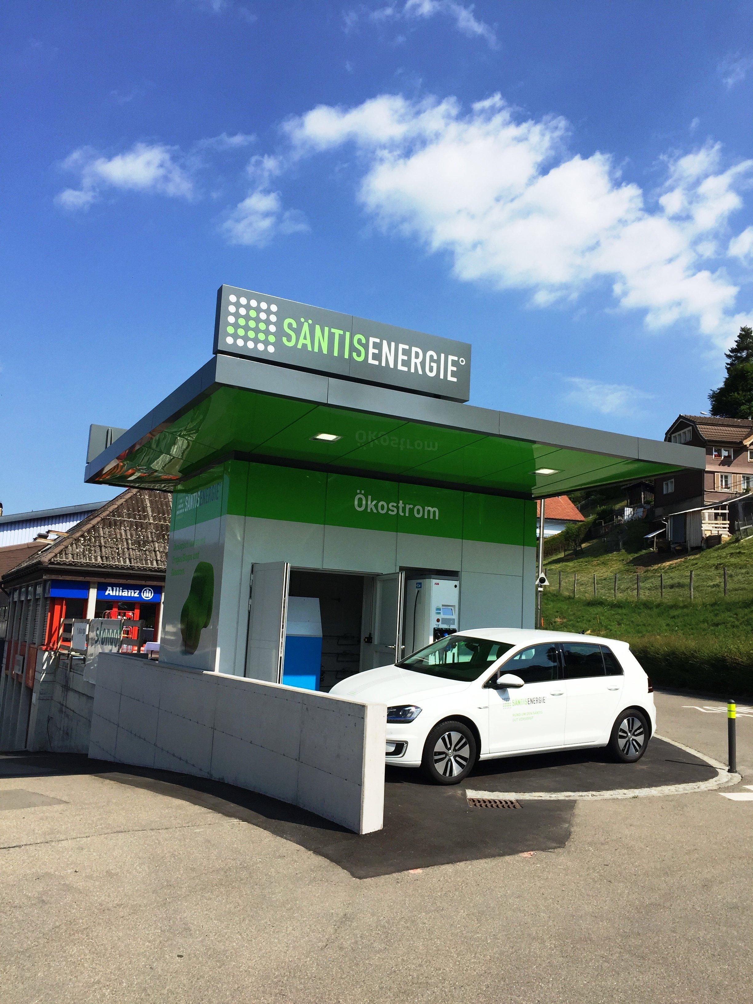 Öko-Tankstelle in Herisau eröffnet