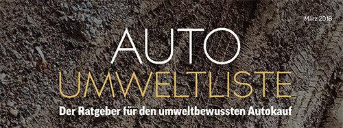 Auto Umweltliste