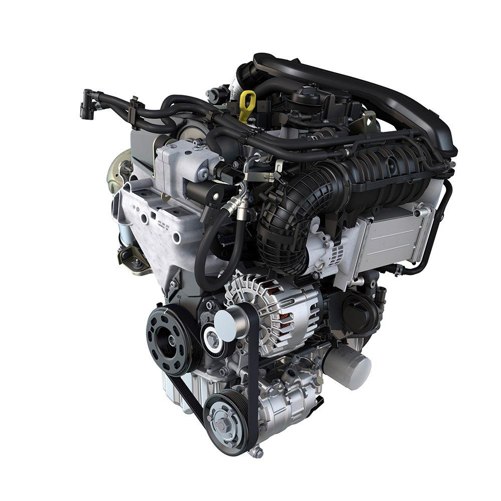 VW-Turbolader-Motor