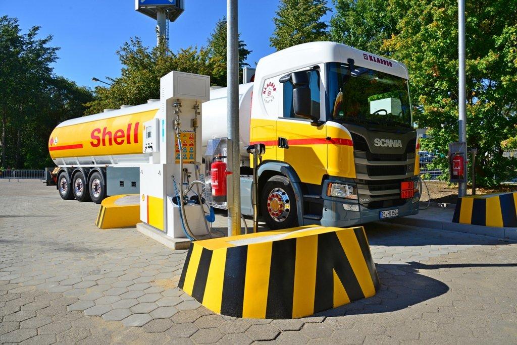 Biogaz liquéfié utilisé comme carburan