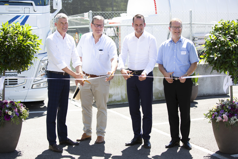 Lidl Schweiz eröffnet erste LNG-Tankstelle der Schweiz