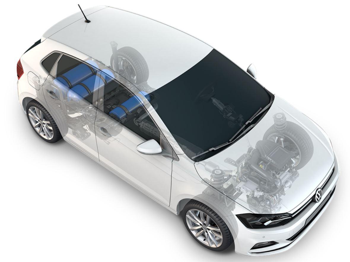 VW Polo TGI mit neuem Tanksystem