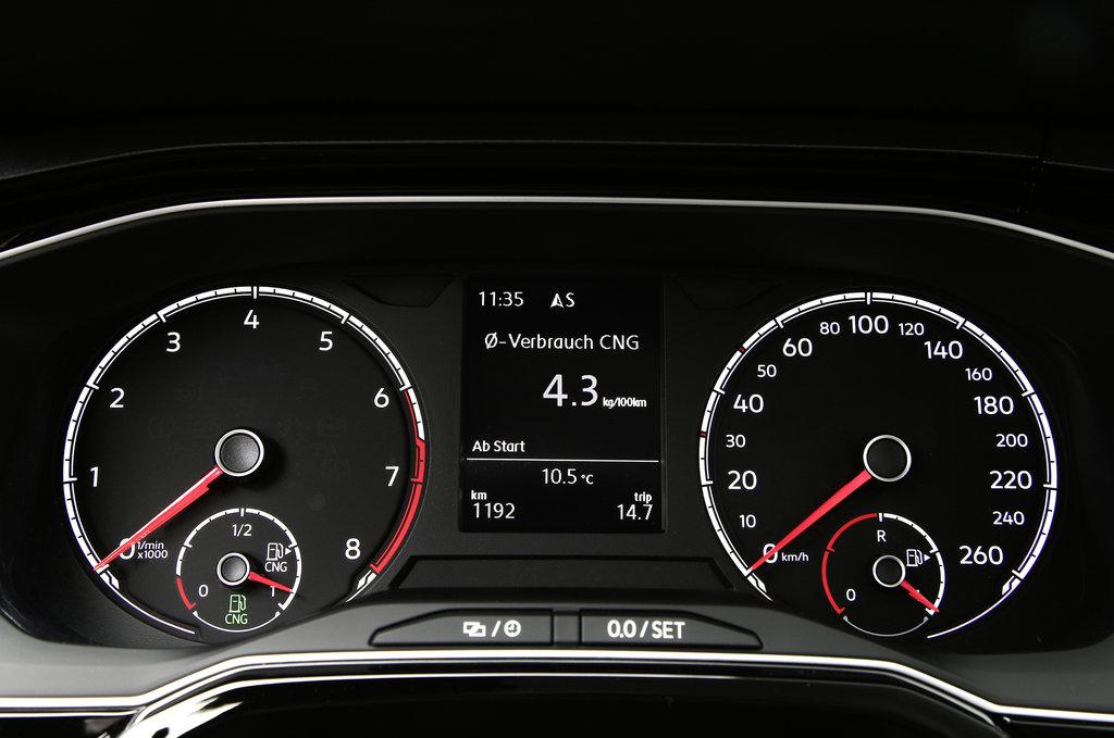 Werden immer beliebter: Autos, die mit Erdgas und Biogas (Compressed Natural Gas, CNG) umwelt- und klimaschonend unterwegs sind.