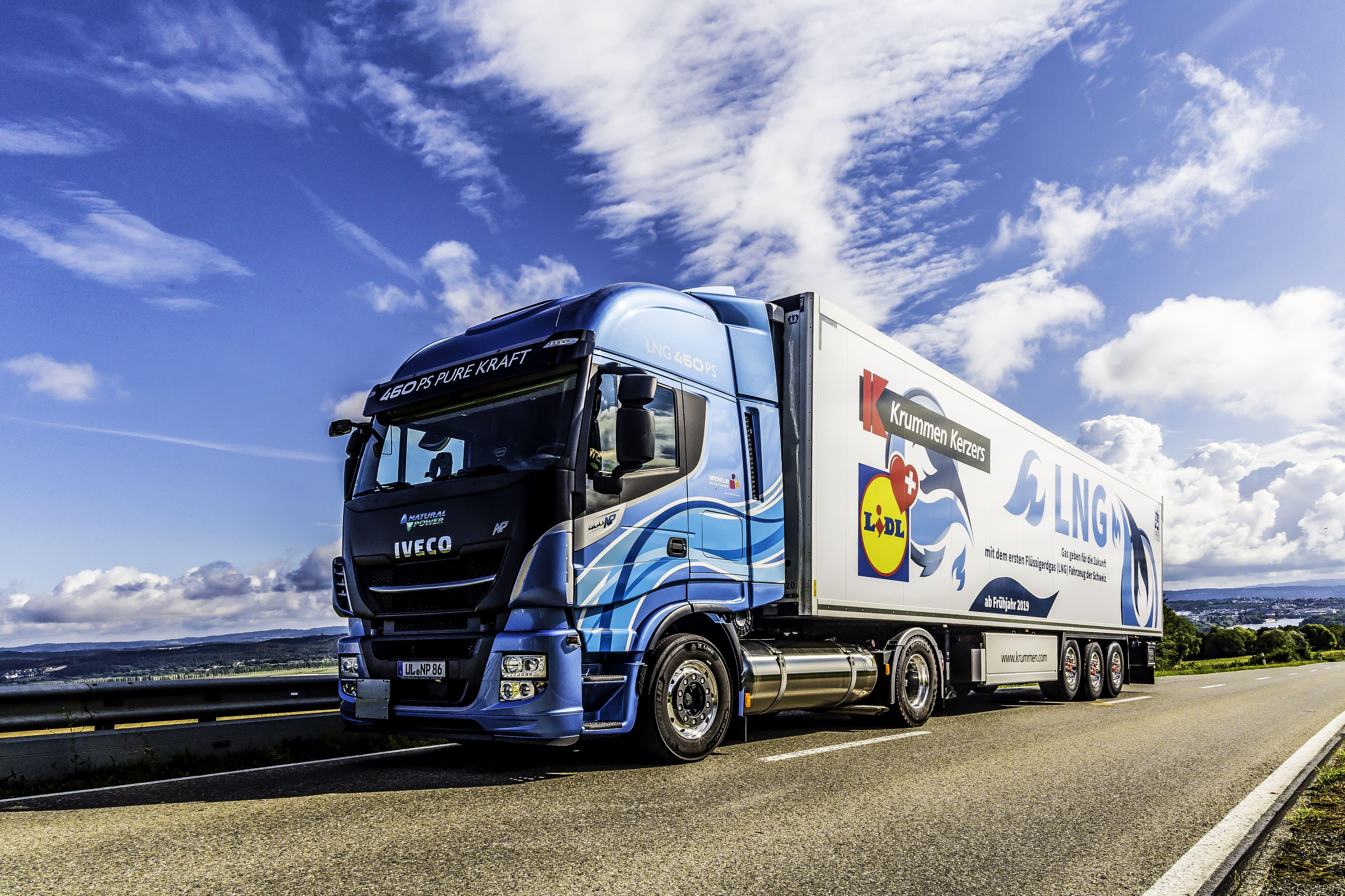 Lidl Suisse roule désormais aussi au biogaz