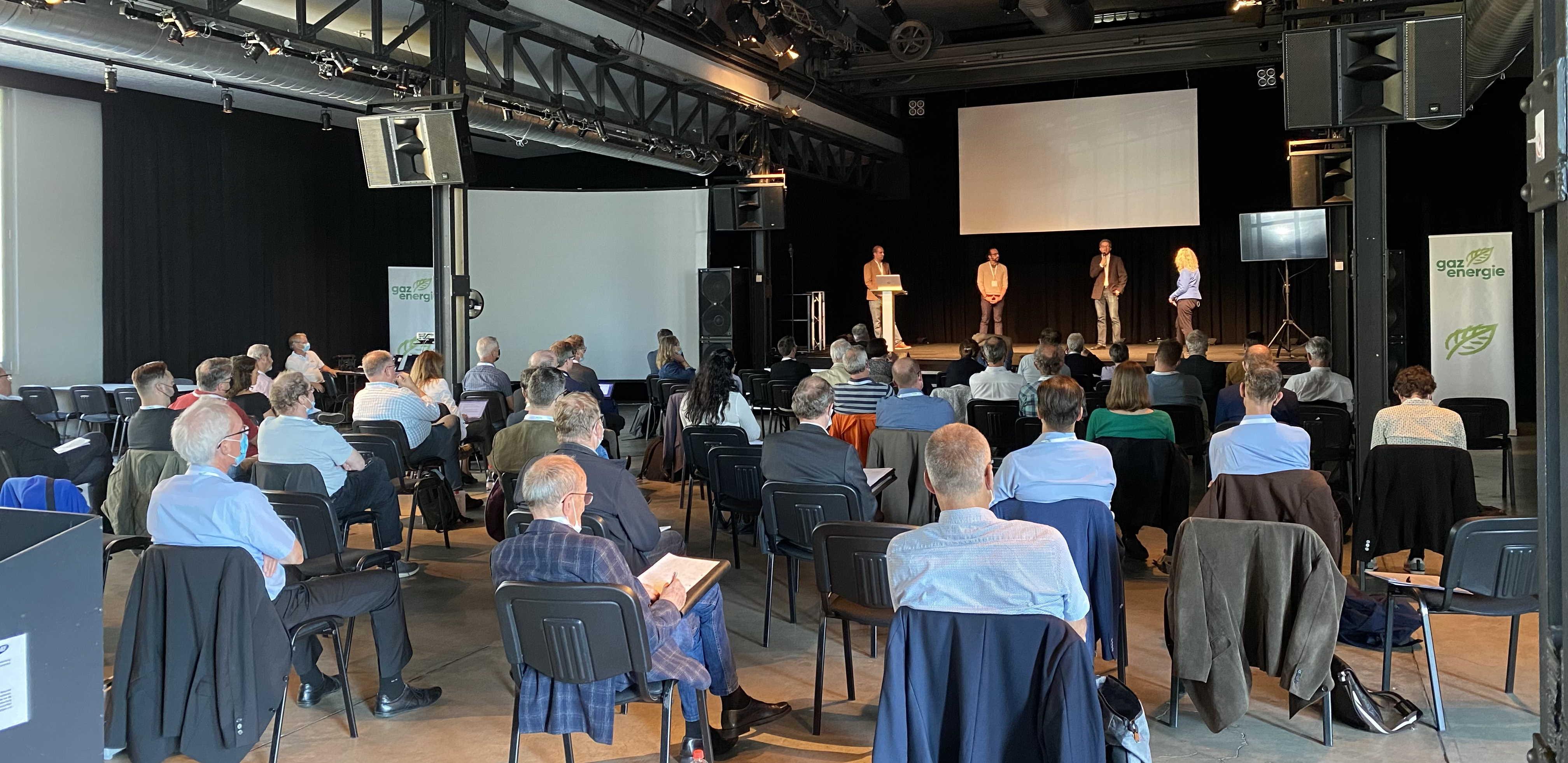 Die Veranstaltung bot einen Einblick in die Forschungsschwerpunkte der Schweizer Gasindustrie.